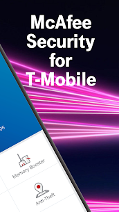 Free McAfee® Security for T-Mobile 3