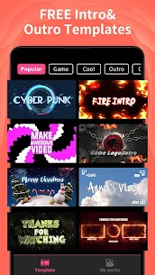 Intro Maker MOD APK (VIP Unlocked + Without Watermark) for Android 1