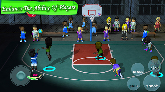 Free Street Basketball Association 4