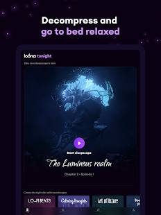 Loóna: Bedtime Calm & Relax Screenshot