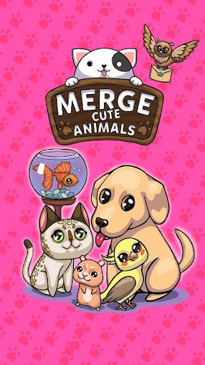 Télécharger Gratuit Merge Cute Animals: Chat et Chien mod apk screenshots 5
