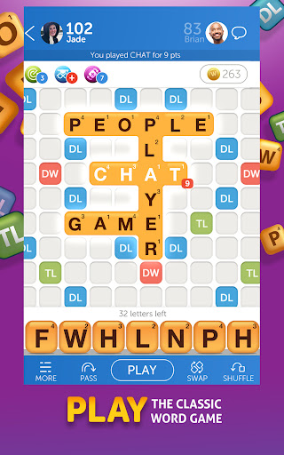 Words With Friends 2 - Board Games & Word Puzzles  screenshots 1