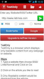 TextOnly Reader Pro Screenshot
