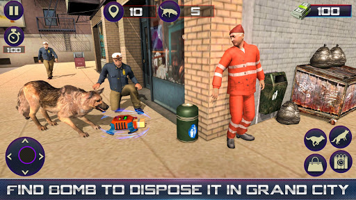 Us Police Dog Duty Simulator 1.7 screenshots 7