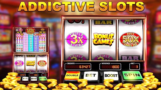 Slot Machine: Free Triple Fifty Times Pay 1.8 screenshots 1