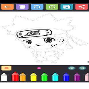 Coloring Ninja Konoha 1.15 screenshots 1
