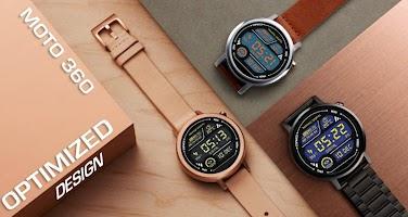 Marine Digital Watch Face & Clock Live Wallpaper