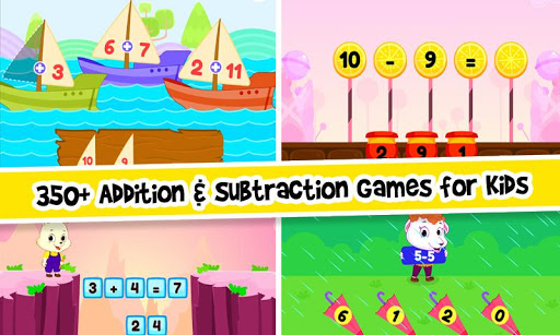 Addition and Subtraction for Kids - Math Games 2.2 screenshots 1