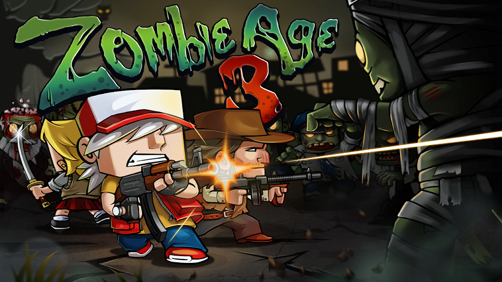 Zombie Age 3: Shooting Walking Zombie: Dead City  poster 0
