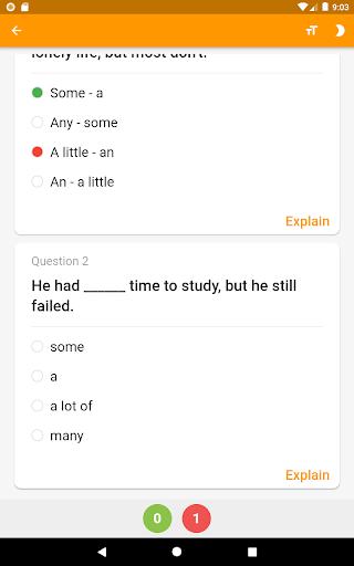 English Grammar Practice screenshot 7