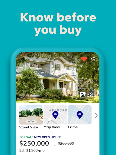 Trulia Real Estate: Search Homes For Sale & Rent 12.2.0 Screenshots 1