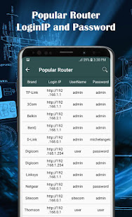 All Router Admin - Wifi password manager