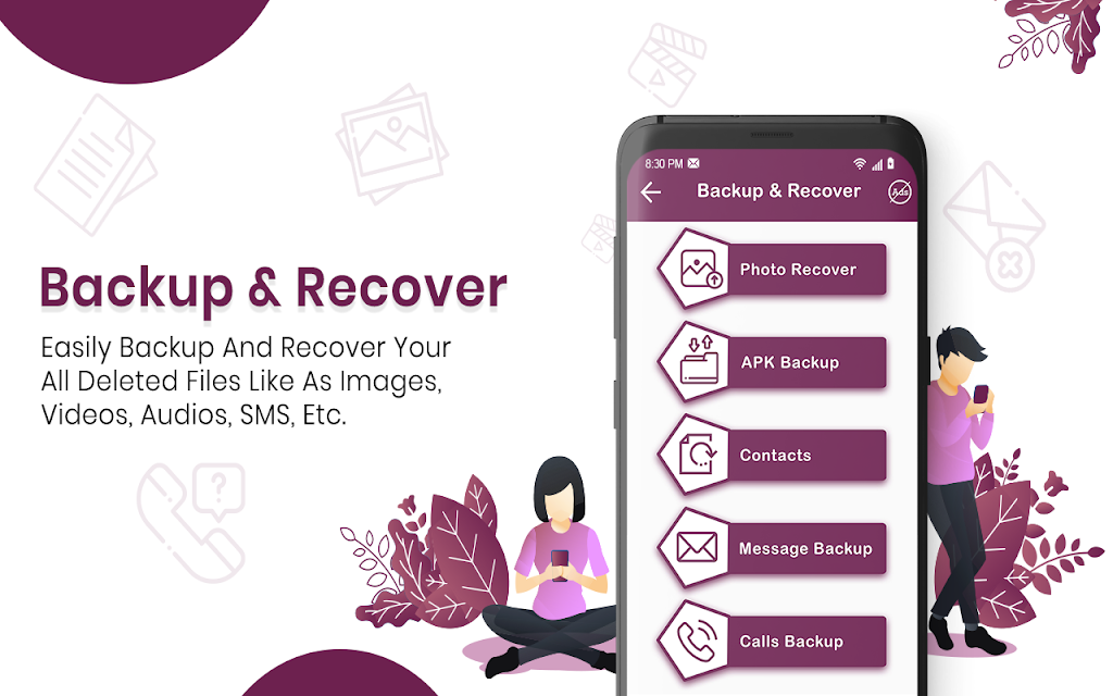 Recover Deleted All Photos, Files And Contacts  poster 5