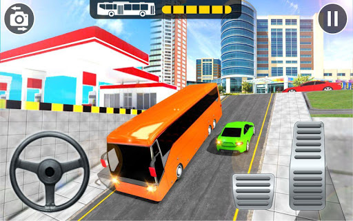Modern Bus Parking Adventure - Advance Bus Games 1.1.2 Screenshots 2