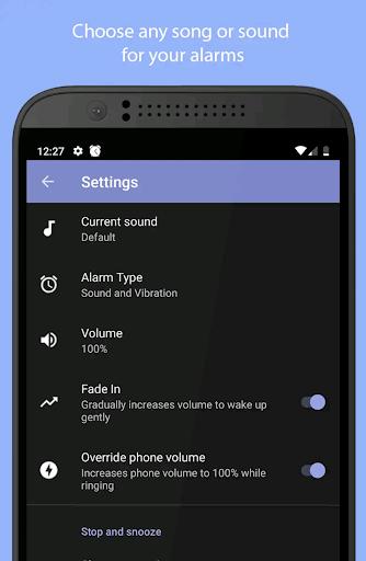 Simple Alarm Clock Free screenshots 4