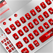 White Red Keyboard