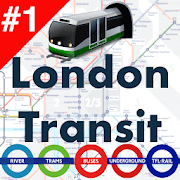 London Transport Offline Tube Rail Bus DLR Tram