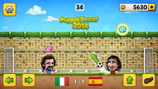 u26bdPuppet Soccer 2014 - Big Head Football ud83cudfc6  screenshots 3