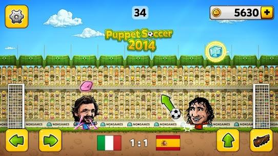 Puppet Soccer 2014 – Big Head Football Mod Apk 3.0.4 (Unlimited Money) 3