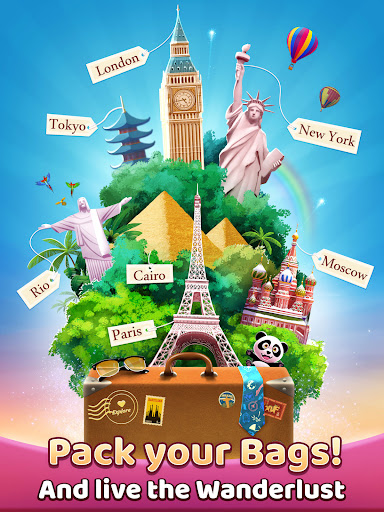 Travel Crush: New Puzzle Adventure Match 3 Game  screenshots 19