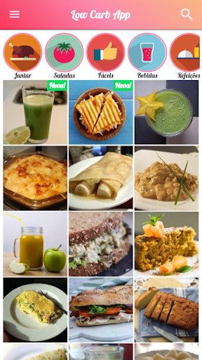 Foto do 🥑 Receitas Low Carb App Saudáveis