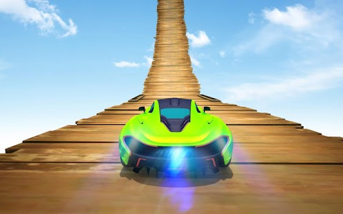Crazy Car Stunt Game- Stunt Car Games on Mega Ramp Screenshot