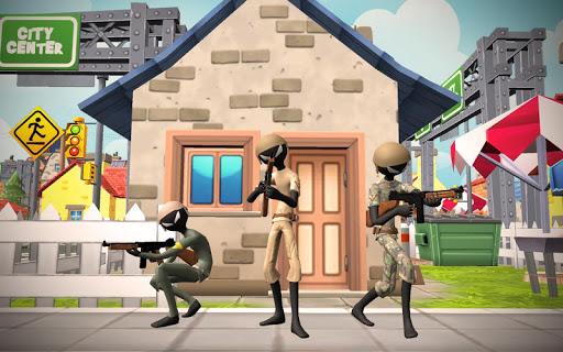 Stickman Battle Royale Free Firing : WW2 Battle 1.2 screenshots 1