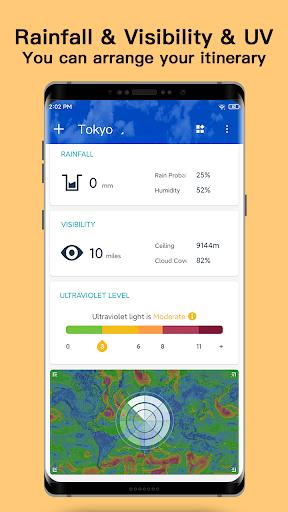 Weather - Live weather & Radar app 1.0.3.9 Screenshots 6