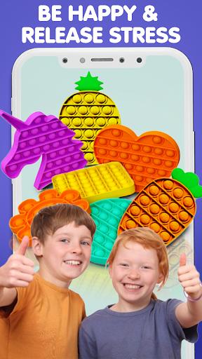 Pop It Sensory Fidget cube toys 3d Anxiety Relief  screenshots 20