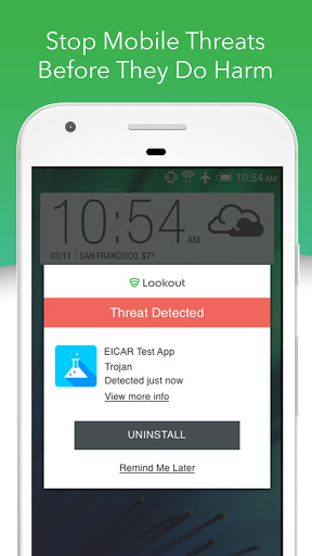 Foto do Mobile Security, Antivirus & Cleaner by Lookout