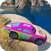 Superheroes Canyon Stunts Racing Cars