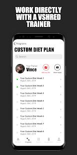V Shred: Diet & Fitness 2.1.10 Screenshots 6