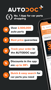 AUTODOC — Auto Parts at Low Prices Online Screenshot