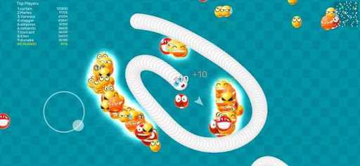 Worms Dash.IO-snake battle zone goodtube screenshots 4