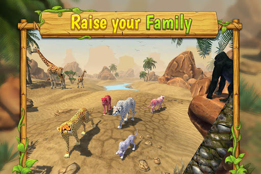 Cheetah Family Sim - Animal Simulator apktreat screenshots 1