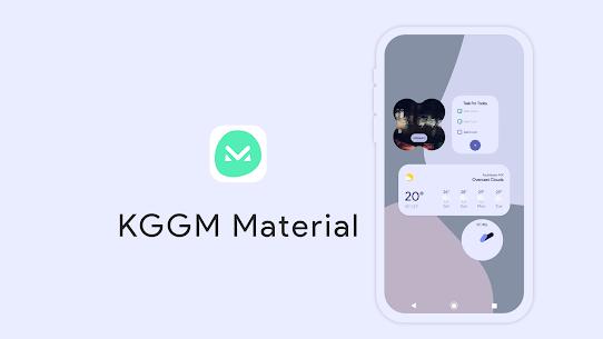 KGGM Material for KWGT APK 4