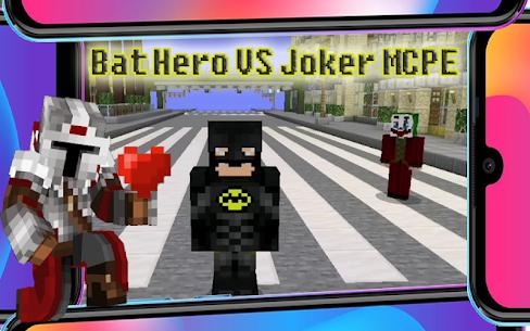 Joker vs Bat Mod Minecraft 5.49 [Mod + APK] Android 1