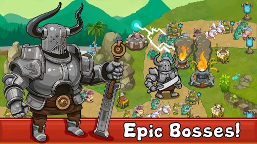 Tower Defense Realm King: Epic TD Strategy Element Apkfinish screenshots 5