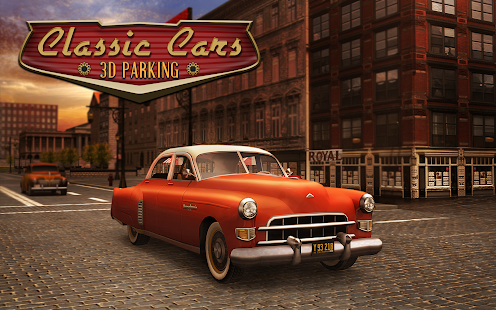 classic cars 3d parking hack
