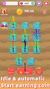 Merge Sword — Idle Blacksmith Master Mod Apk (Unlimited Gold) 1.3.5 3