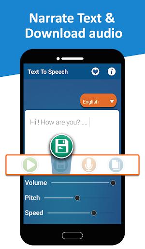Text to Speech (TTS) - Text Reader & Converter
