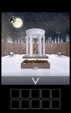 脱出ゲーム 雪降る庭からの脱出のおすすめ画像1