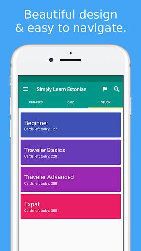 Simply Learn Estonian modavailable screenshots 3