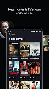 Filmzie – Free Movie Streaming App Screenshot