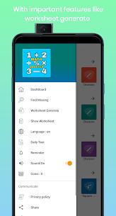 Maths Booster- Learn Maths, Generate Worksheet 2