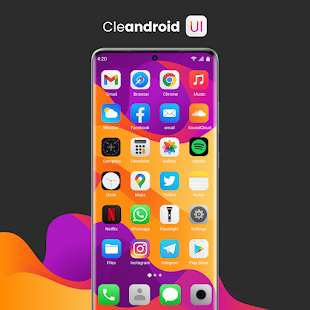 Cleandroid UI - Icon Pack Screenshot
