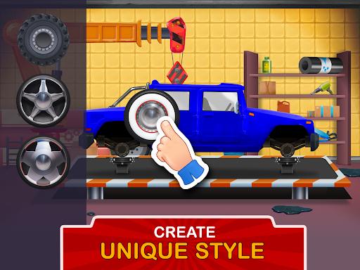 Kids Garage: Car & Truck Repair Games for Kids Fun  screenshots 11