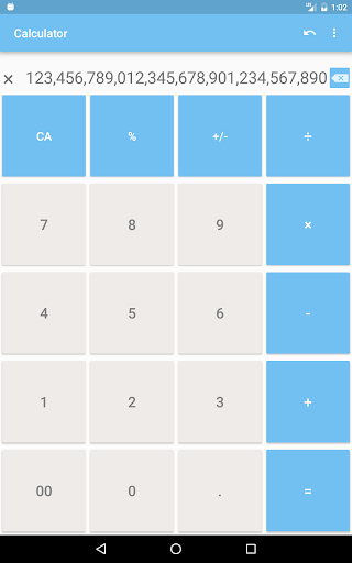Calculator with many digit (Long number) 1.9.11 screenshots 11