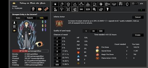 Idling to Rule the Gods 3.50 screenshots 15
