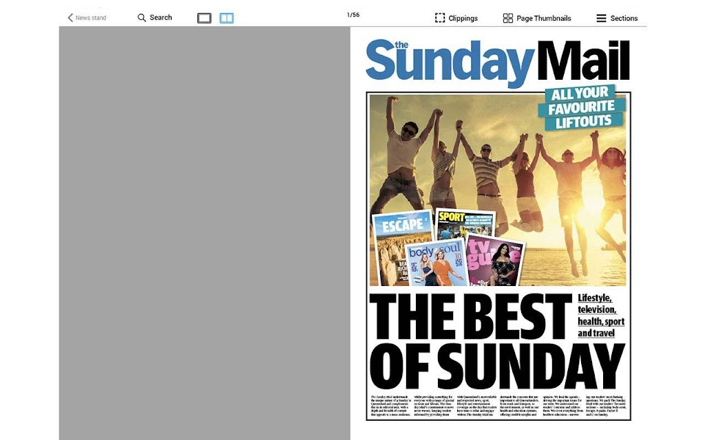 The Courier-Mail  poster 10